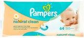 Vlhčené ubrousky dětské Pampers Natural Clean
