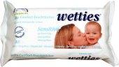 Vlhčené ubrousky dětské Sensitive Wetties