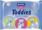 Vlhčené ubrousky dětské Toddies  Nivea Baby