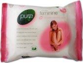 Ubrousky pro intimní hygienu Pure