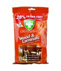 Vlhčené ubrousky Wood+Laminate Green Shield