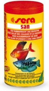 Krmivo pro ryby vločkové San Sera