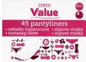 Vložky dámské slipové Tesco Value