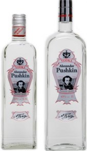 Vodka Alexander Pushkin Fruko Schulz