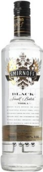 Vodka Black Smirnoff