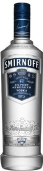 Vodka Blue Smirnoff