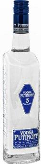 Vodka 3x destilovaná Premium Putinoff