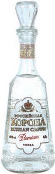 Vodka Rossijskaja korona Premium