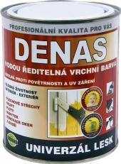 Vodou ředitelná vrchní barva Denas Uni Lesk