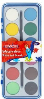 Vodové barvy Go Create Tesco