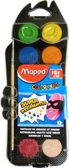 Vodové barvy Maped