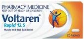 Tablety proti bolesti Rapid Voltaren