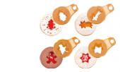 Vykrajovátka vánoční na linecké cukroví Delícia Tescoma