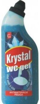 Čistič WC gelový Krystal