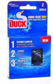WC blok gelový Aqua Blue 3v1 Duck - náplň