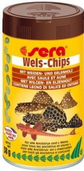 Krmivo pro ancistrusy a sumečky Wels-Chips Sera