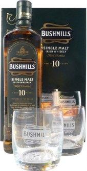 Whisky 10 YO Bushmills - dárkové balení
