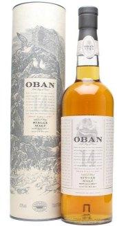 Whisky 14 YO Oban