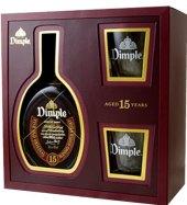 Whisky 15 YO Dimple - dárkové balení