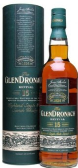 Whisky 15 YO Glendronach