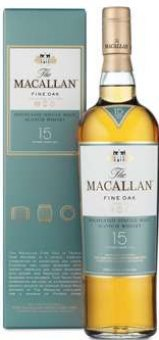Whisky 15 YO Macallan