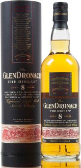 Whisky 8 YO Glendronach