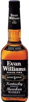 Whisky Black Evan Williams