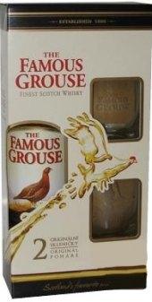 Whisky Famous Grouse - dárkové balení