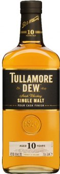 Whisky irská 10 YO Single Malt Tullamore Dew