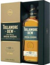 Whisky irská 12 YO Tullamore Dew - dárkové balení