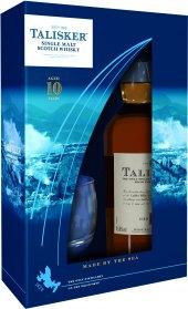 Whisky skotská 10 YO Talisker - dárkové balení