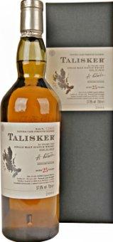 Whisky skotská 25 YO Talisker