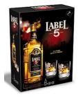 Whisky skotská 5 Label - dárkové balení