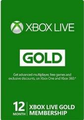 Xbox Live Gold karta