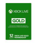 Xbox One Live Gold karta