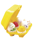 Zábavná pískací vajíčka Tomy