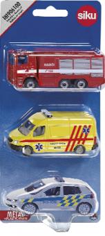 Záchranářské modely Siku