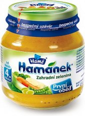 Příkrm Zahradní zelenina Hamánek