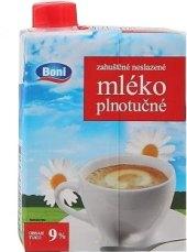 Mléko zahuštěné neslazené 9% Boni