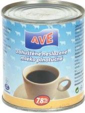 Mléko zahuštěné neslazené AVE