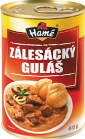 Zálesácký guláš Hamé - konzerva