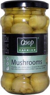 Žampiony celé Coop Premium