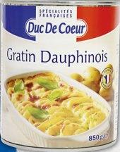 Brambory zapečené Duc De Coeur