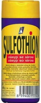 Zásyp se sírou Sulfothion Alpa