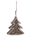 Vánoční závěsné svítící LED dekorace
