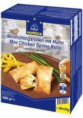 Závitky mražené s kuřecím masem mini Metro Chef