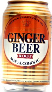 Nealkoholické pivo zázvorové Harboe