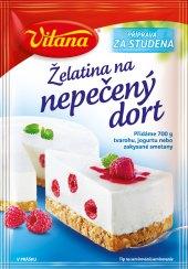 Želatina na nepečený dort Vitana