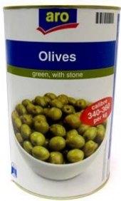 Zelené olivy Aro