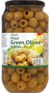Olivy zelené Tesco